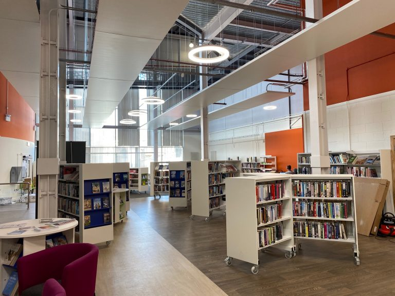 library refursbishment